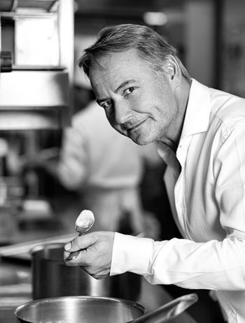 Jean-Christophe Ansanay-Alex en cuisine